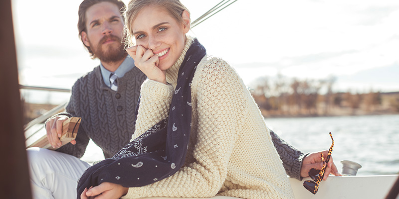 Let's Get Nautical: Set Sail with <em>Interweave Knits</em> Spring 2017