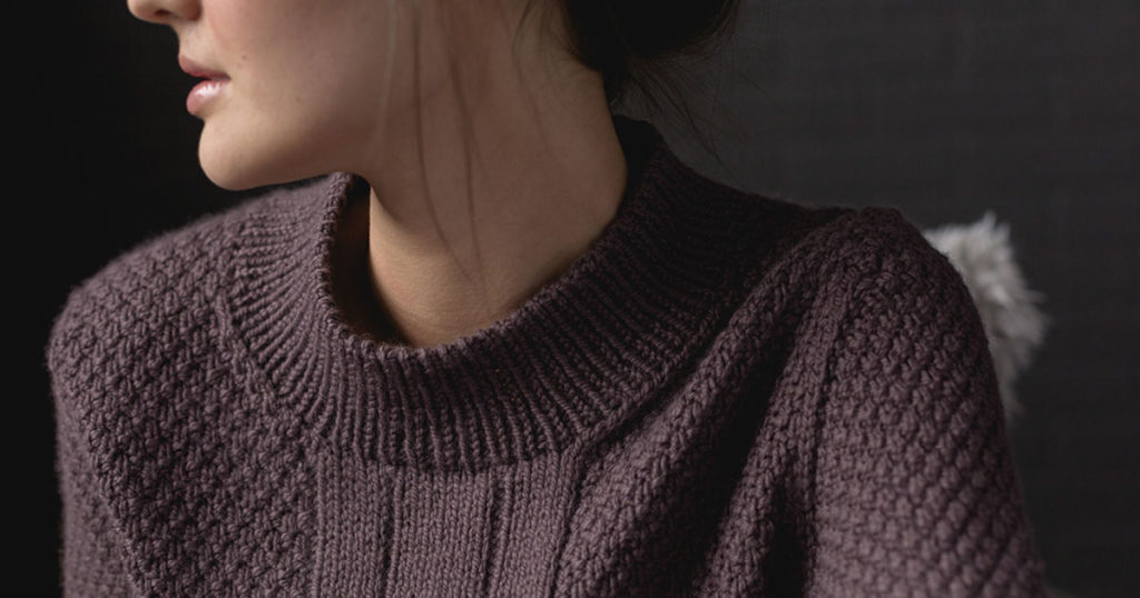 How to Pick Up Stitches for a Neckband