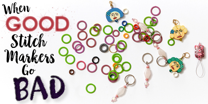 A Knitter's Guide: Stitch Markers Can Be Helpful—Until They're Not