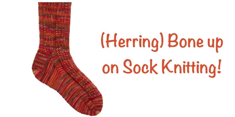Pattern of the Week: The Herringbone Rib Socks