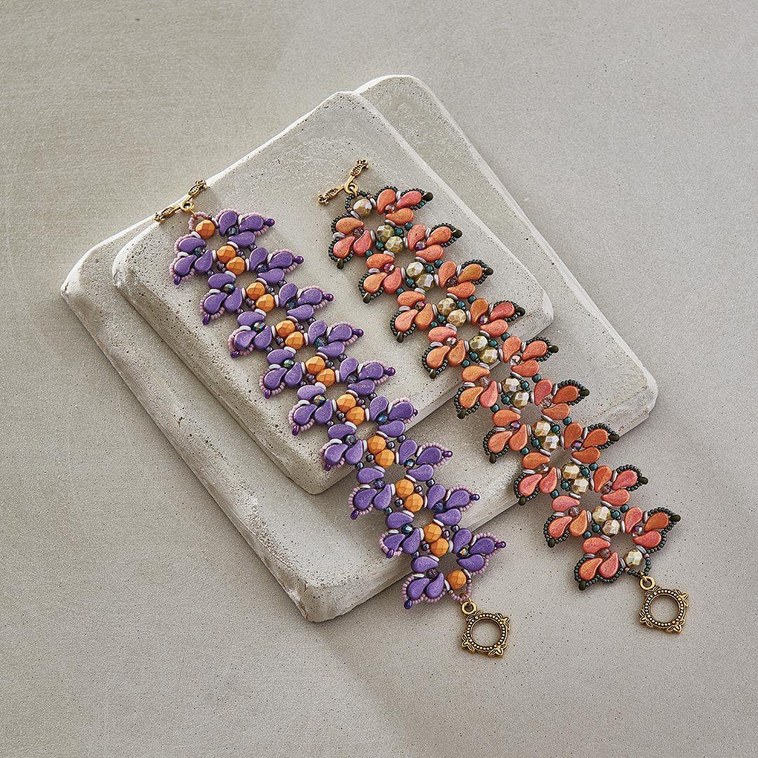 Debora Hodoyer's Iris In Bloom Bracelet