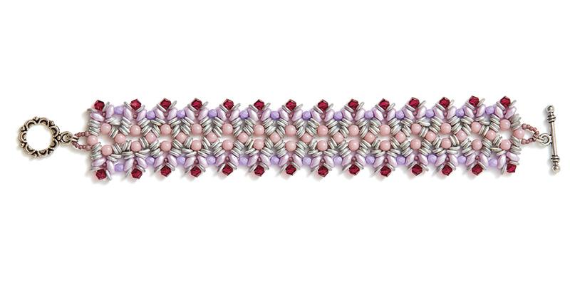 Ondina Bracelet: Purple Colorway