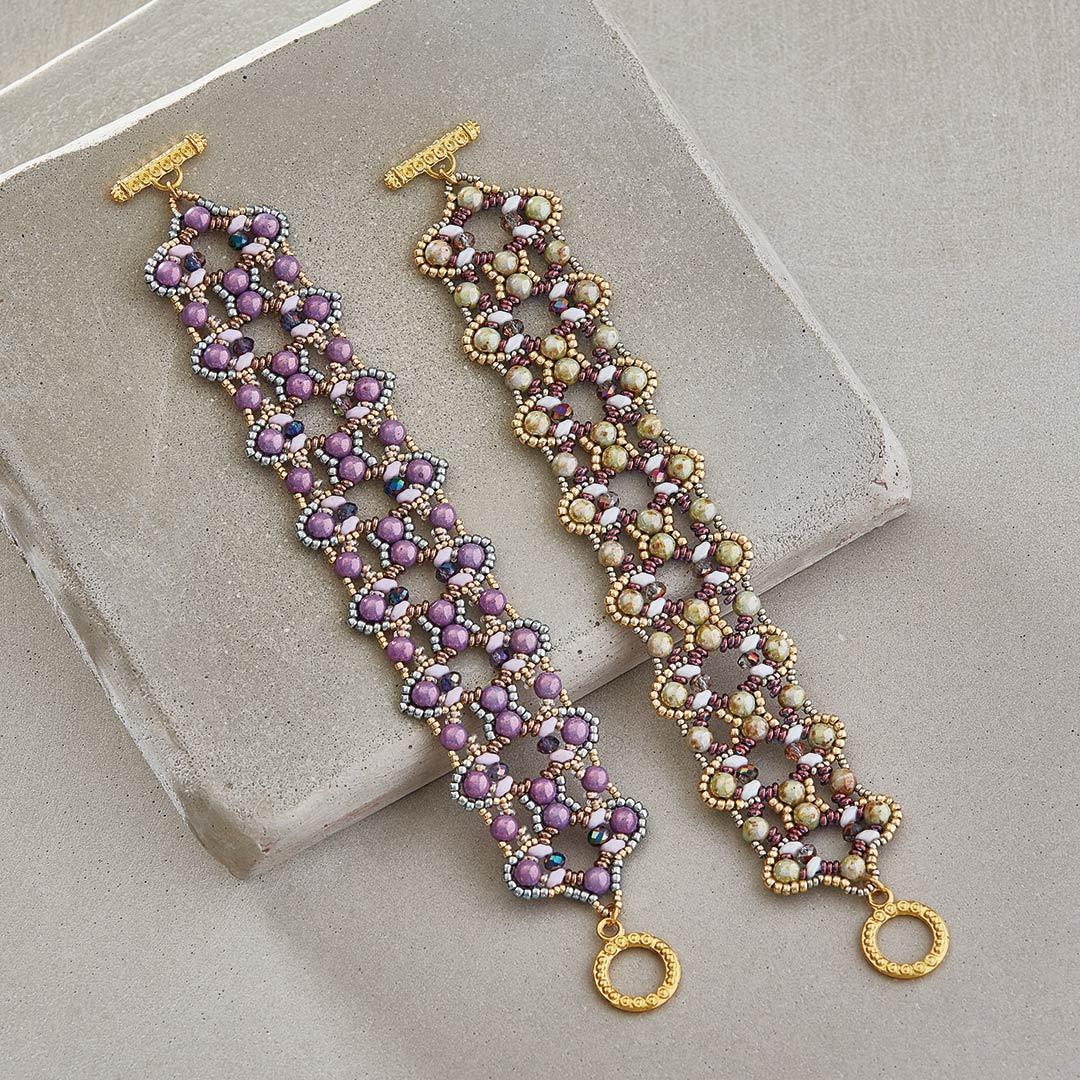 Debora Hodoyer's Quatrefoil Lace Bracelet