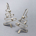 Favorite Project of the Week: Holiday Wire Earrings