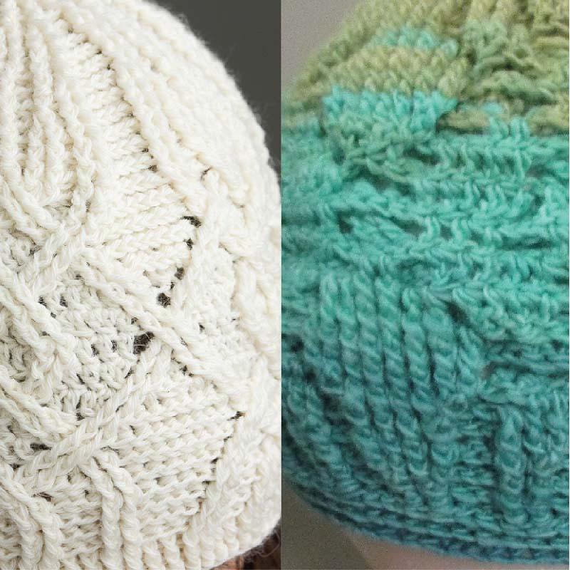 Honeysuckle Hat detail