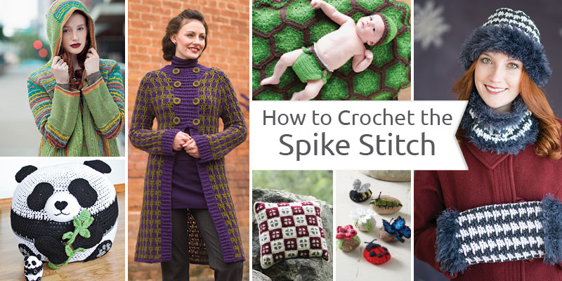 How to Make a Crochet Spike Stitch