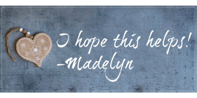 Ask Madelyn: Loose Selvedge Threads