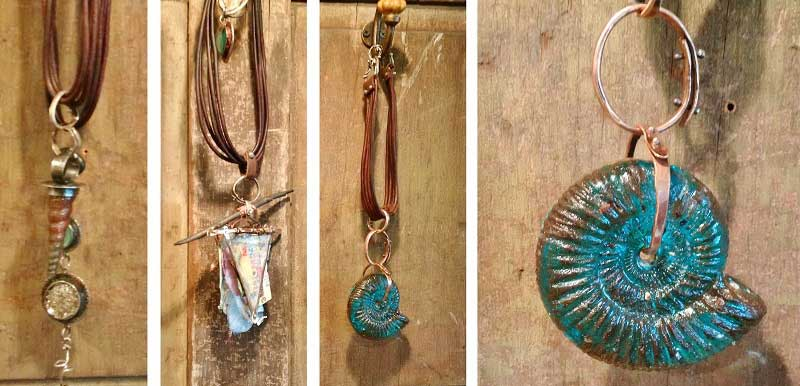 Tucson 2017 Wrap Up: New Jewelry-Making Supplies and Hot Jewelry Trends. Cast Ice Resin by Susan Lenart Kazmer