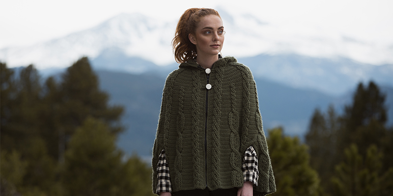 Crochet Cables for Everybody in <em>Interweave Crochet</em> Fall