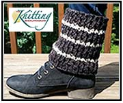 The Knitting Boutique FREE Boot Topper Pattern Receive your free Knitting Boutique Assateague Island Boot Topper pattern. Click here.