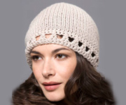 Tahki Stacy Charles Crochet with a classic – Filatura Di Crosa's worsted-weight ZARA PLUS, an extrafine Merino wool – for timeless beauty and lasting quality.