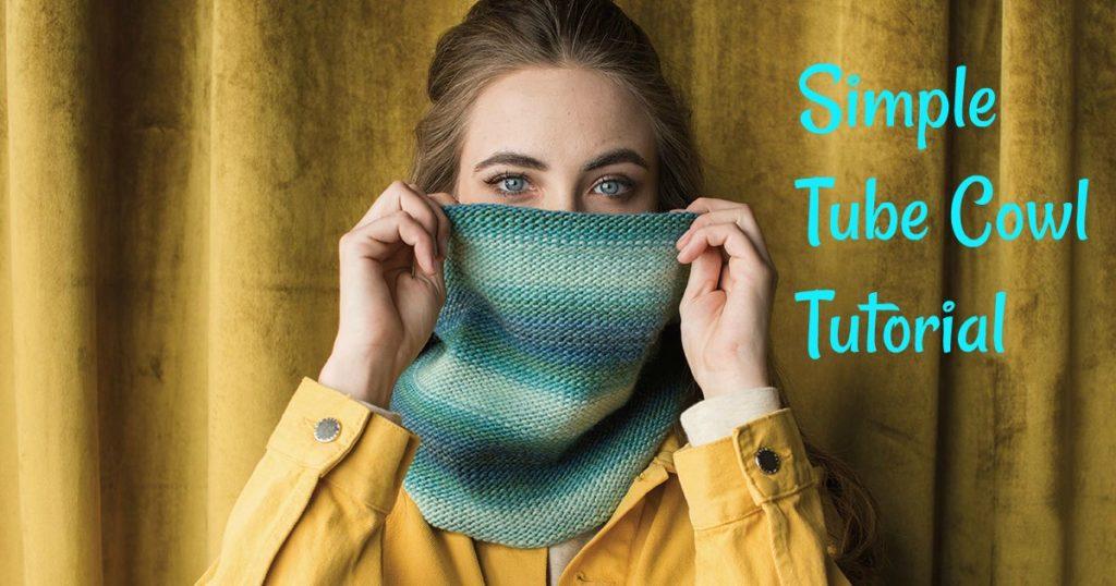 Knitting and Grafting Small Circumference Tube Cowls
