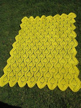 Pineapple Design Afghan Interweave