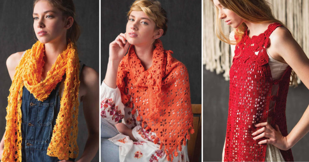 Embrace Lace and Fine Thread With <em>Interweave Crochet</em> Summer 2019