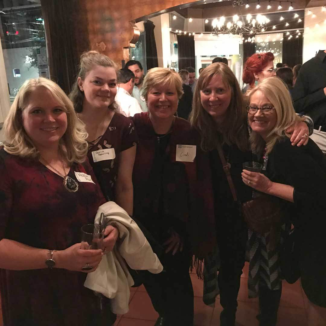 Melissa Muir, Sonia Sparing, Cindi Willcox, Katie Hacker, Deb Floros