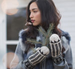 My Dream Colorwork Kit: Ibex Valley Mittens
