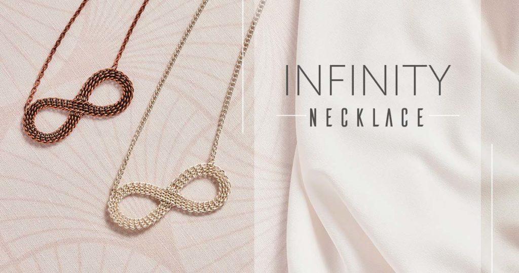 <i>Kumihimo Wirework Made Easy:</i> Infinity Necklace