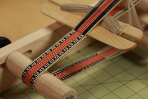 A band on an inkle loom.