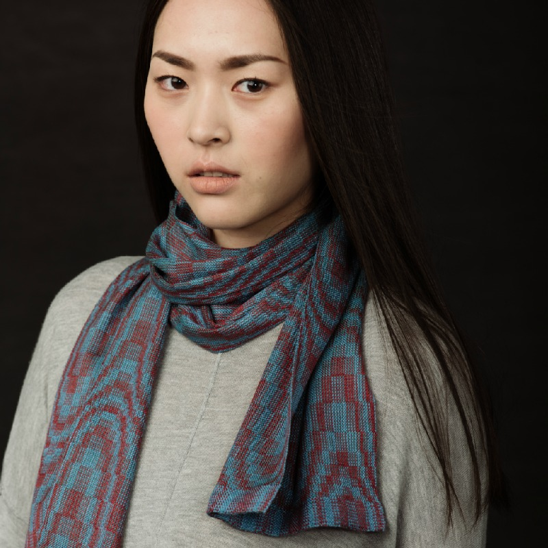 four-shaft scarf collection