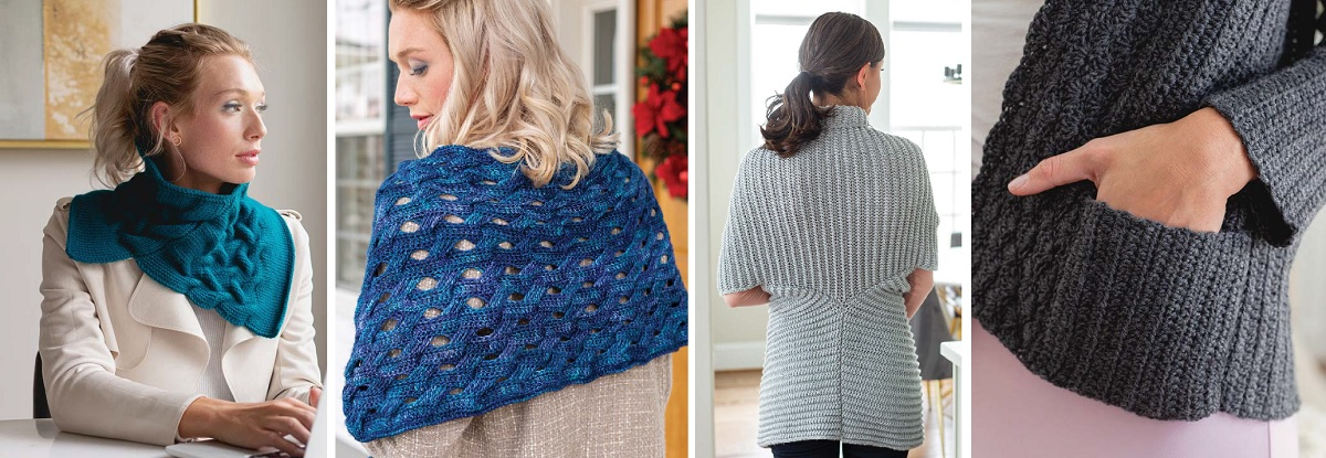 projects from Interweave Crochet Winter 2020