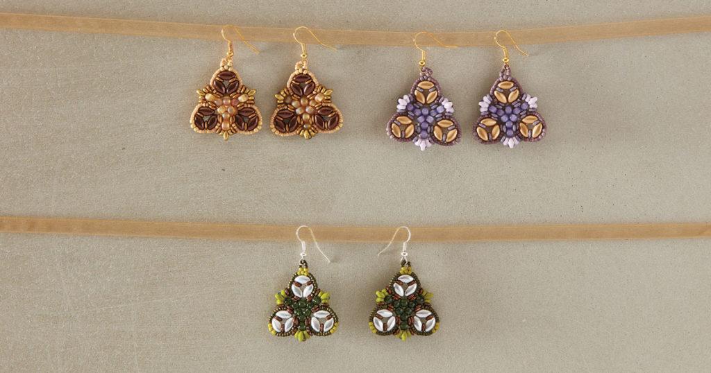 Irisbell Earrings by Debora Hodoyer