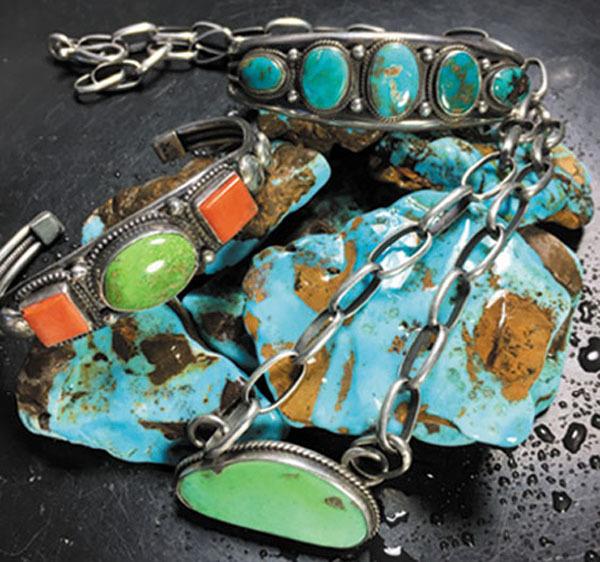 Jewelry by Shambala Arts, an exhibitor at the Grant Gem & Jewelry Show. Photo: Courtesy Shambala Arts