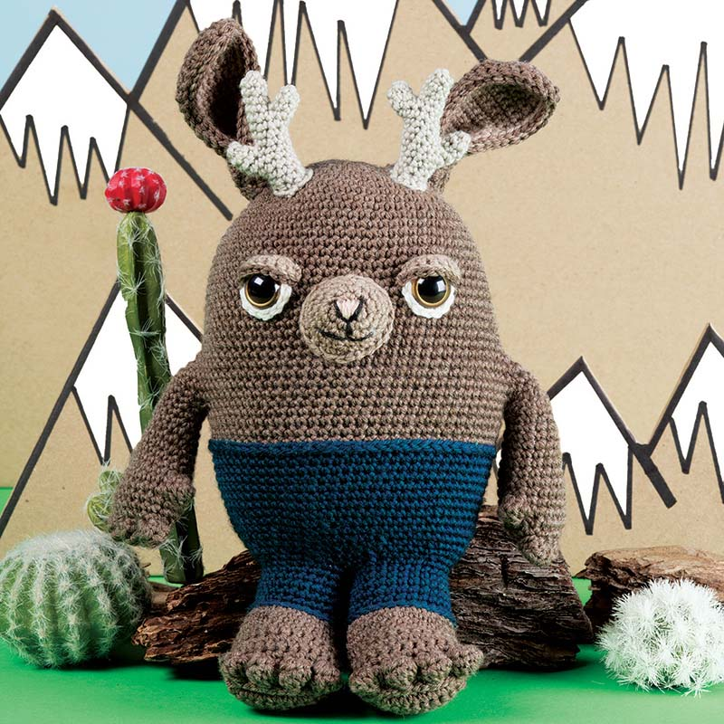 knit and crochet toys