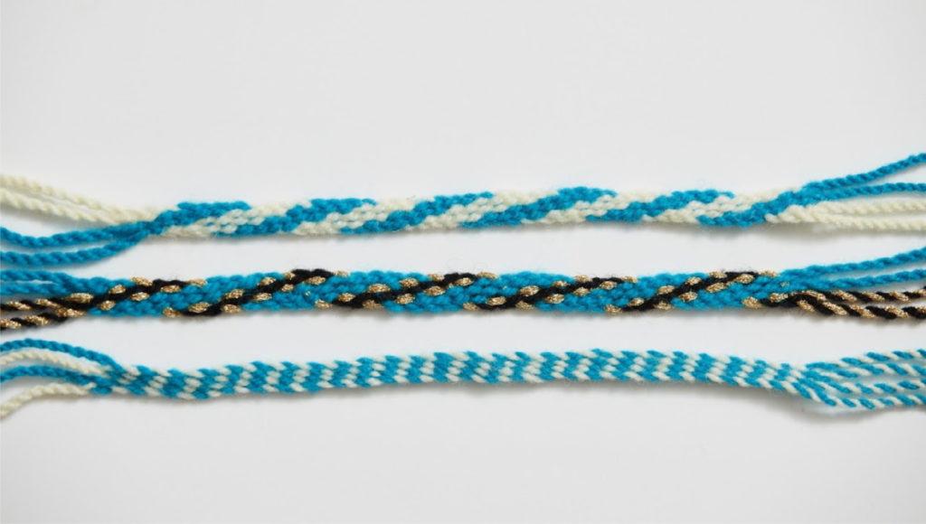 Create a Fingerwoven Bracelet