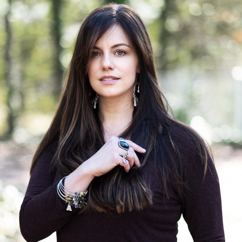 Jessica Jordan of Rosy Revolver jewelry artist