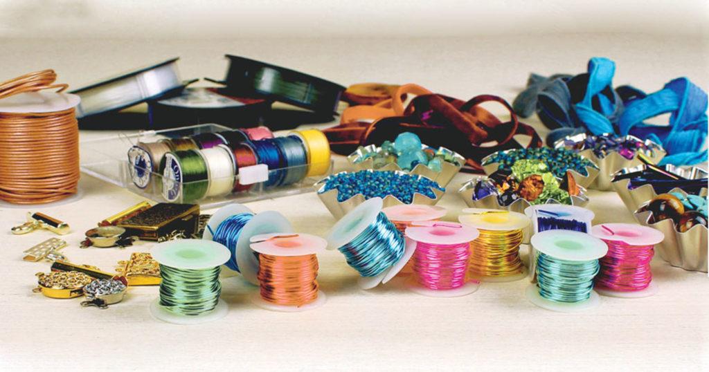 <em>Jewel Loom Inspirations</em>: Stringing Materials for Loom Woven Jewelry