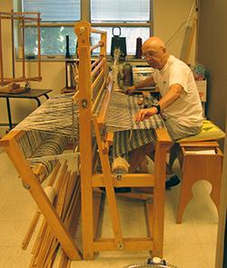 Jochen in his home studio.  PHOTO BY PAULA DEYOUNG