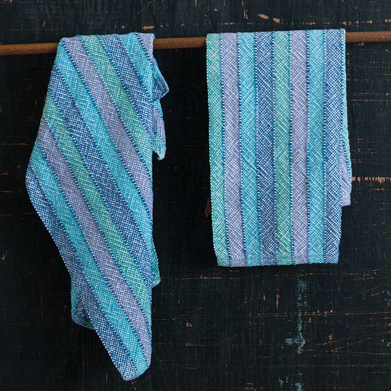 Down By The Lake Towels by Jodi Ybarra, Little Looms 2016