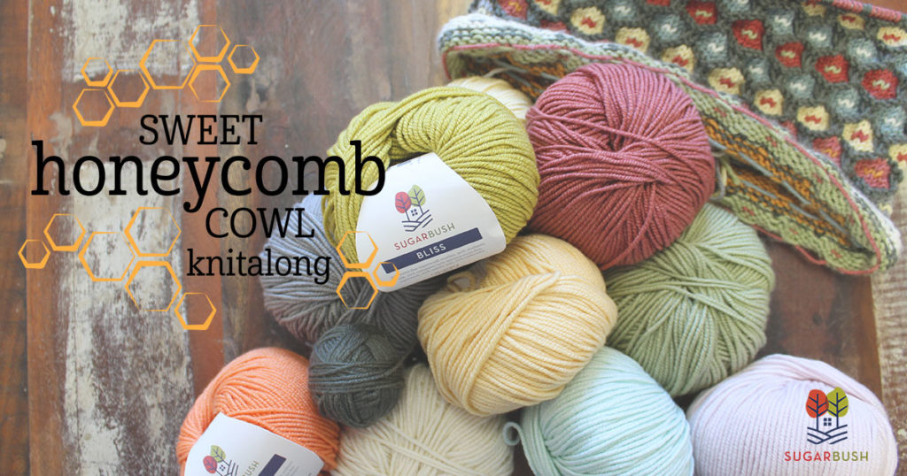 Sweet Honeycomb Cowl Knit-Along: Choosing Your Colors