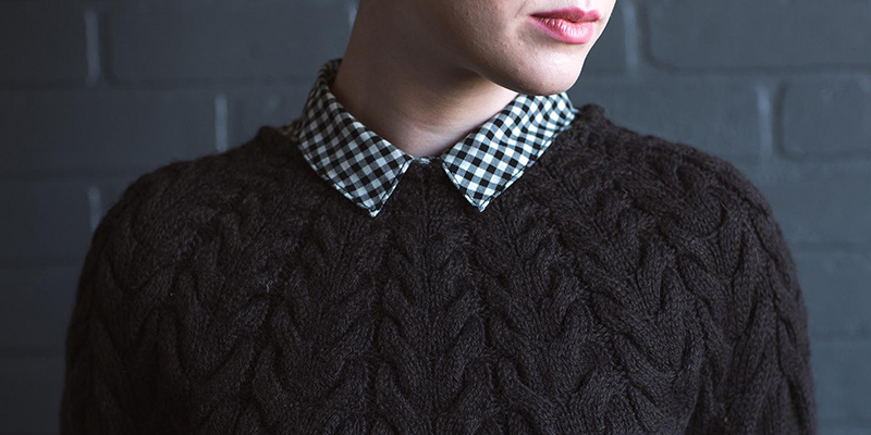 POW: Angelina Pullover by Mary Anne Benedetto