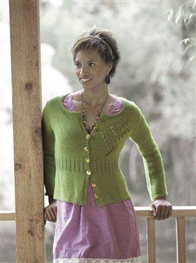 Geraldine Cardigan Knitting Pattern
