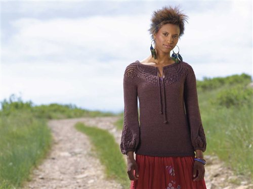 Ileana Pullover Knitting Pattern
