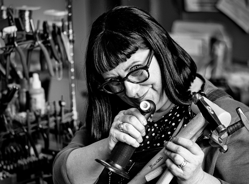 Meet Kate Richbourg, Soldering and Jewelry-Making Instructor