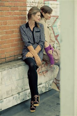 Kelsey Gloves and Mitts Silka Burgoyne Knitscene