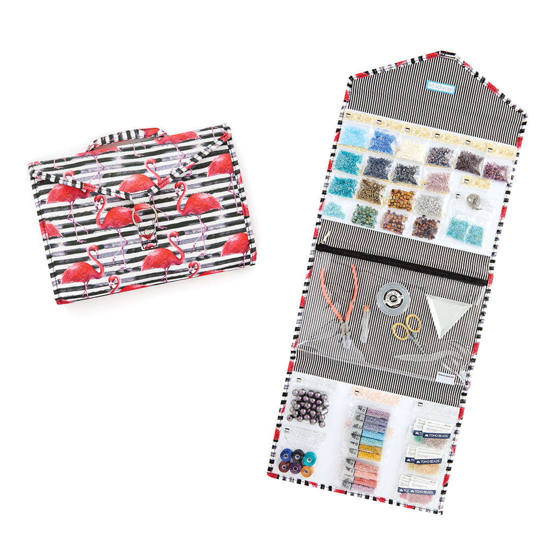 Kit Xchange's craft-storage solution for beading supplies