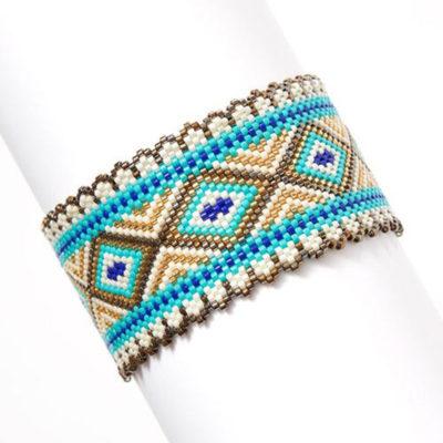 Bead Weaving for Beginners Dancing Diamond Kit