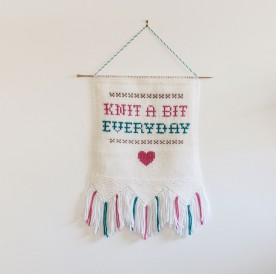 Knit-a-Bit-Wall-Hanging