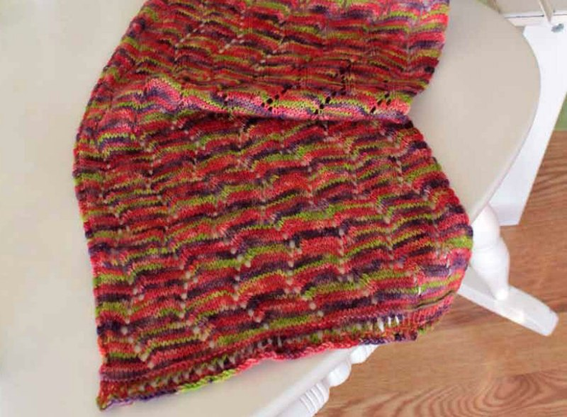 Knit and Purl Shawl