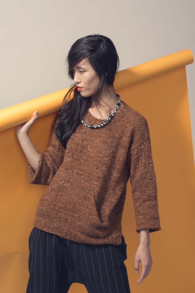 Queen Street Sweater Knitting Pattern