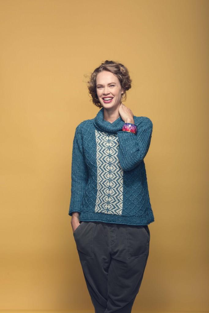 Fire Isle Sweater Knitting Pattern