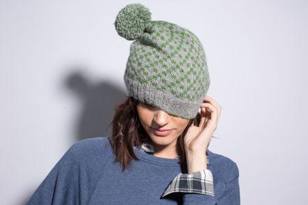 Timber Trail Hat knitting pattern