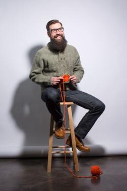 Breckenridge Sweater Mens Knitting Pattern