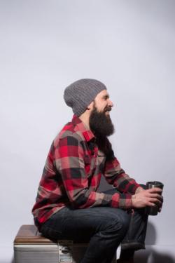 Mens Hat Knitting Pattern
