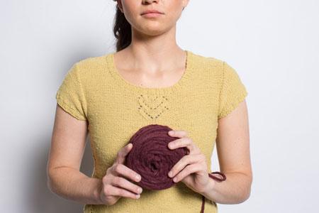grasslands tee knitting pattern