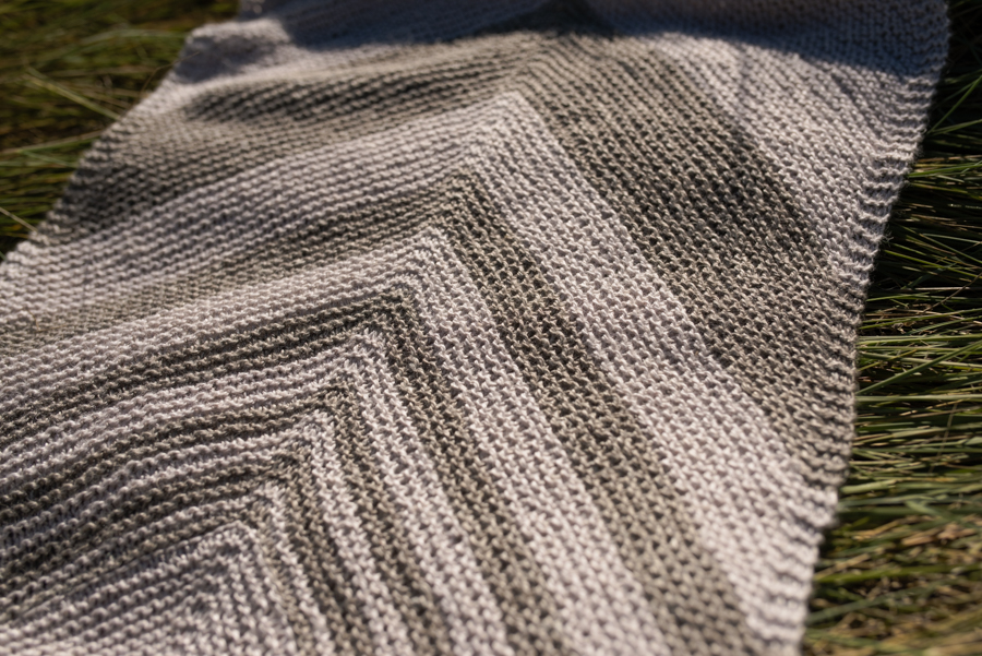 Every knitter should create this oversized garter-stitch, Salcantay knitted cowl that makes the perfect accessory for any destination.