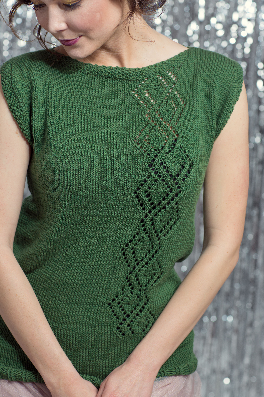 Gala Tunic knitting pattern by Catrina Frost from knitscene Winter 2016